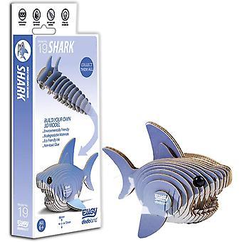 EUGY 3D Shark Model Craft Kit