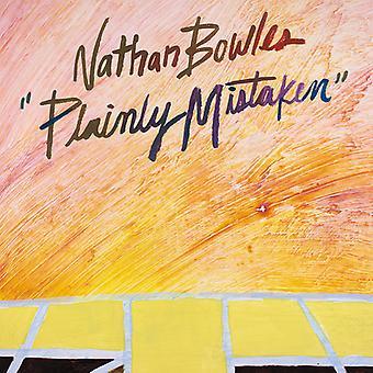 Nathan Bowles - Plainly Mistaken [Vinyl] USA import