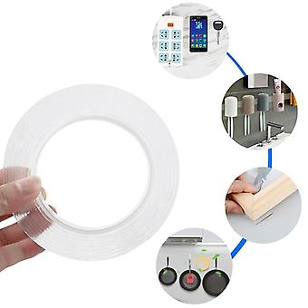 1m Reusable Double-sided Adhesive, Nano Traceless Tape, Removable Sticker