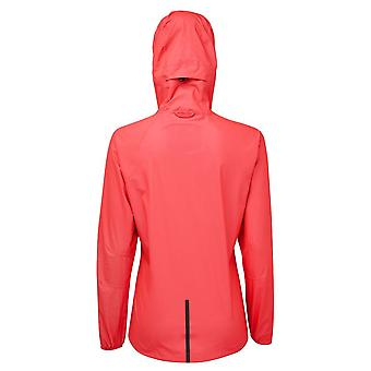 Ronhill Tech Fortify Womens Breathable & Waterproof Running Jacket Hot Pink/charcoal