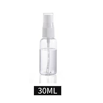 30/50/100 Ml Portable Empty Perfume Refillable Bottles Clear Plastic Spray Bottle Mist Pump