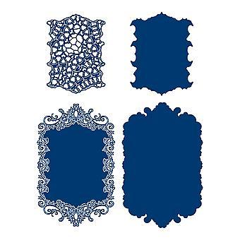 Tattered Lace Royal Wish Frame Die Set