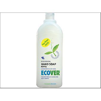 Ecover Liquid Hand Soap Refill Lavender 1L 4002629