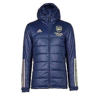2020-2021 Arsenal Adidas Winter Jacket (Indigo)