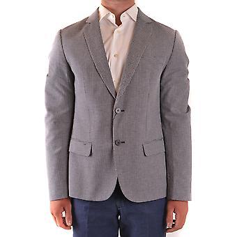 Antony Morato Ezbc147001 Men's Blue Cotton Blazer
