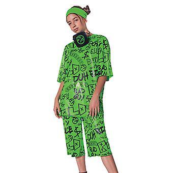 Girl's Billie Eilish Classic Costume