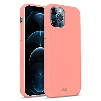 Case iPhone 12/12 Pro Silicone Premium Soft Touch Soft Feeling Jaym pink