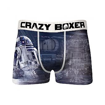 Star Wars R2-D2 Rolling Men's Crazy Boxer Briefs