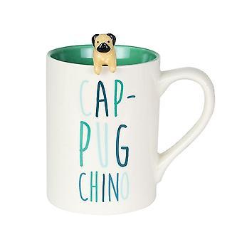 Our Name Is Mud Pug Mug With Spoon Set