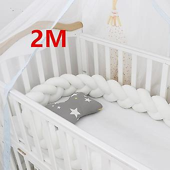 Baby Bed Bumpers In The Crib For Newborn, Pillow Cushion Cot Room Decor Infant