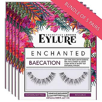 Eylure Enchanted Strip Lashes - Baecation - Wispy and Natural Finish - 5 Pairs