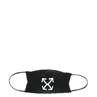 Off-white Owrg002r21kni0011001 Women's Black Nylon Eye Mask
