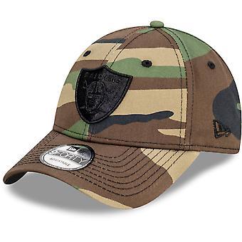 New Era 9Forty Snapback Cap - Las Vegas Raiders wood camo