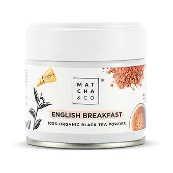 English Breakfast Black Tea Powder 30 g of powder