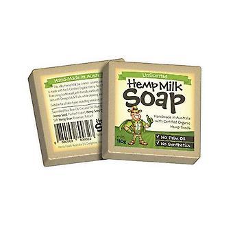 Hemp Milk Soap Bar Organic Certified Unscented