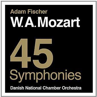 W.a. Mozart - W.a. Mozart: 45 Symphonies [CD] USA import