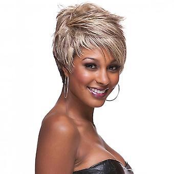 Women & apos;s شعر مستعار المرأة & apos;ق الشعر المجعد الشعر الأسود الشعر الباروكات الاصطناعية