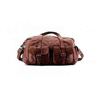 The Nomad - Brown Choco - Wash Leather