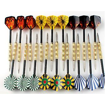 18pcs Professional Steel Tip Darts- With Nice Flights