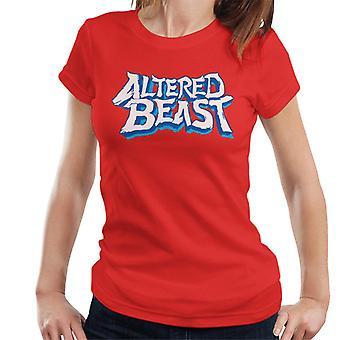 Sega Endret Beast Logo Dame&ampos;s T-skjorte