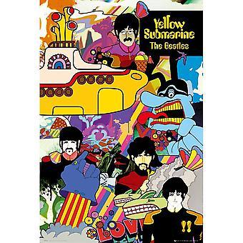 البيتلز ملصق الغواصة الصفراء