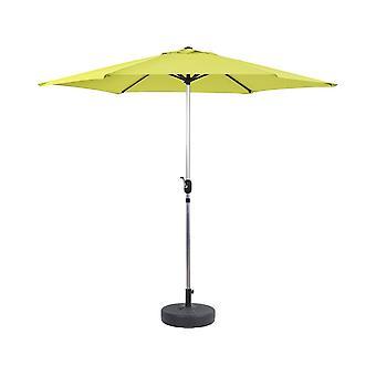 """Parasol de Jardín Aluminio """"Sol"""" – Verde - Ø3m con base"""