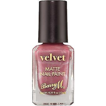 Barry M Velvet Matte Nail Polish Collection - Modern Mauve 10ml (VNP5)