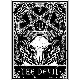 Dödliga Tarot Djävulen Mini Affisch