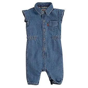 Levi's baby girls denim jumpsuit 1eb165-m3y