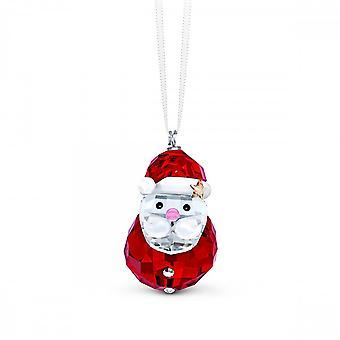 Swarovski Rocking Santa Crystal Ornament 5544533