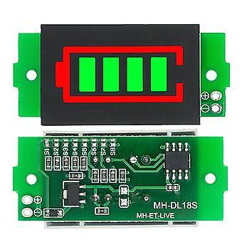 Litiumbatteri kapasitetsindikatormodul elbil batteristrøm tester