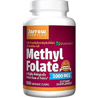 Jarrow Formulas Methyl Folate 1000mcg Caps 100