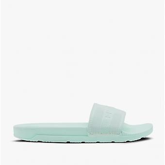 Hunter Original elastische Slide Damen Sandalen Spearmint