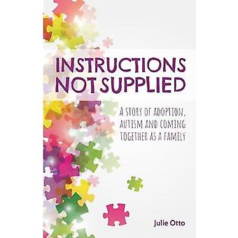 Instructions Not Supplied A story of adoption autism and coming together as a family