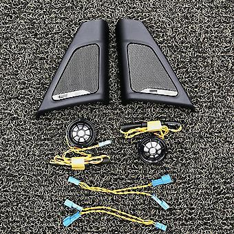 Auton etuoven kaiutin - Trumpet tweeter kansi pää kolminkertainen sarvi runko koristelu