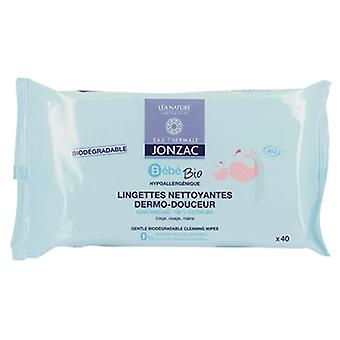 Jonzac Bebé Biodegradable Baby Wipes 40 Units