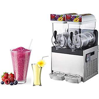 2 Tank Eis Slush Welpen Granita Slushie Dispenser Maschine