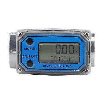 Digital Turbine Flow Meter For Measuring Gasoline Diesel Kerosene