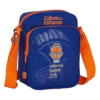 Shoulder Bag Valencia Basket Blue Orange