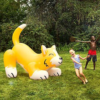 Bigmouth - ginormous corgi inflatable yard sprinkler