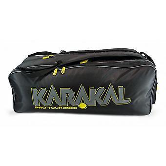 Karakal برو جولة النخبة 12 مضرب حقيبة الرياضة معدات حقيبة ظهر تحمل نظام