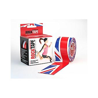 Rocktape Strong Adhesive Kinesiology Tape Patterned Roll - Union Jack