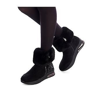 Xti - Zapatos - Botines - 49467-BLACK - Señoras - Schwartz - EU 35