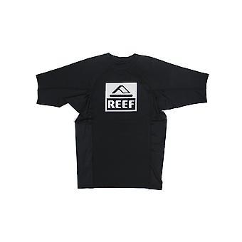 Reef logo Rashguard II Kortärmad utslag väst i svart
