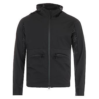 MA.Strum Soft Shell Hooded Jacket - Black