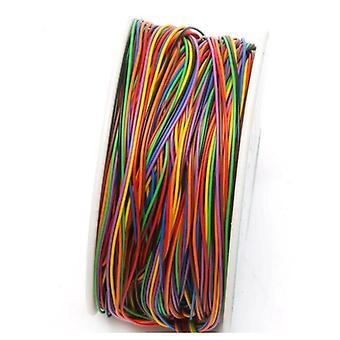 Один рулон 8 цветов 30awg проволоки оберточный провод, Pvc изоляции