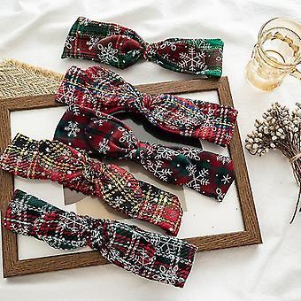 Capelli da donna fascia per capelli anello modello di Natale