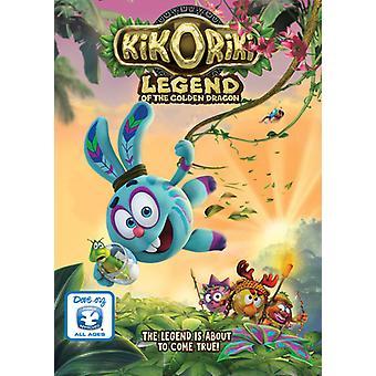 Kikoriki: Legend of the Golden Dragon [DVD] USA import
