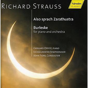 R. Strauss - Richard Strauss: Also Sprach Zarathustra; Burleske [CD] USA import