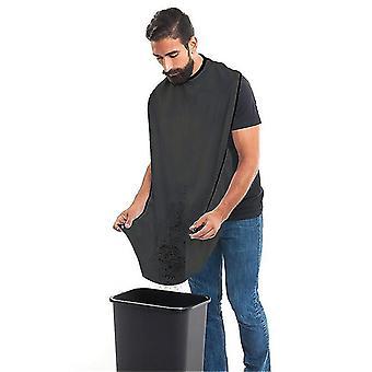 Barba negra afeitado delantal de afeitado babero cabello estilo delantal suministros de baño x5106